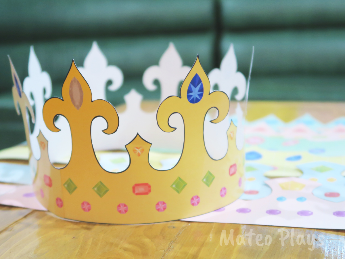 Crown template | Mateo Plays